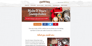 Country Crock Make It Yours Sweepstakes