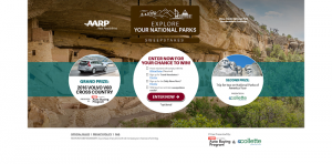 AARP Explore Your National Parks Sweepstakes and Instant Win Game