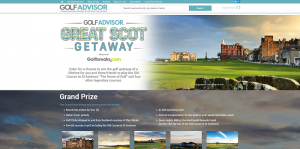 Golf Advisor Great Scot Getaway Sweepstakes