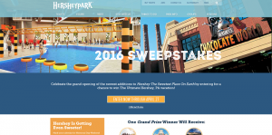 HersheyPark What's New For 20 16 Sweepstakes