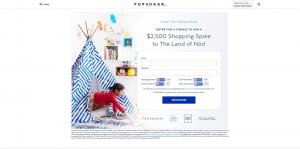 PopSugar Land Of Nod $2,500 Giveaway