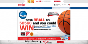 Meijer Feed The Fans Sweepstakes