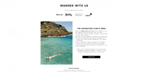 Madewell Wander With Us Sweepstakes