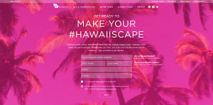 Virgin America Make Your Hawaiiscape Sweepstakes