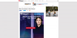 iHeartRadio Meet Josh Groban in New Orleans Sweepstakes