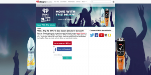 iHeartRadio Move With The Music Sweepstakes