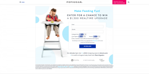 PopSugar Win a $1,300 Mealtime Upgrade Sweepstakes