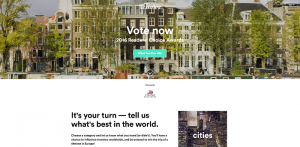 Condé Nast Traveler Readers' Choice Sweepstakes