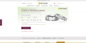 Ritani Wedding Rings Sweepstakes