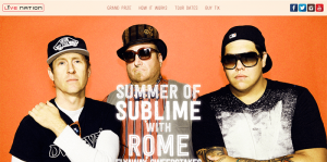 Live Nation Summer of Sublime With Rome Flyaway Sweepstakes