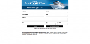 Sunset Best Summer Ever Sweepstakes