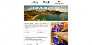 Tommy Bahama Escape to St. Kitts Sweepstakes