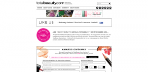 Total Beauty Awards 2016 Winner Announcement Sweepstakes