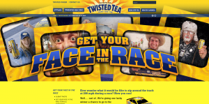 Twisted Tea Get your Face in the Race Contest