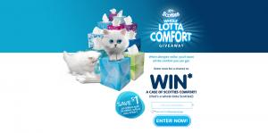 Scotties Whole Lotta Comfort Giveaway Sweepstakes