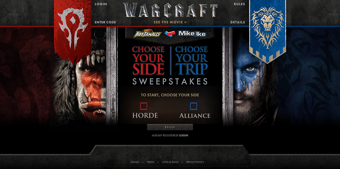 Warcraft Promo At JustBorn.com