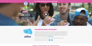 Baskin-Robbins Sandwiching Sweepstakes