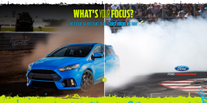 WhatsYourFocusSweeps.com Ford What's Your Focus? Sweepstakes 2016
