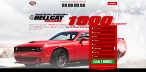Speed Society 2015 Dodge Challenger Hellcat Giveaway