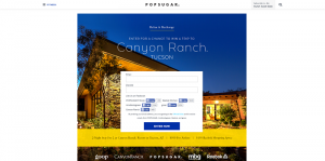 PopSugar Trip to Canyon Ranch Tucson Sweepstakes