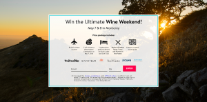 Tasting Table's 2016 Wine Weekend Sweepstakes