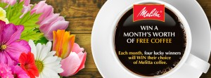 Melitta USA Win Free Coffee For A Month Sweepstakes