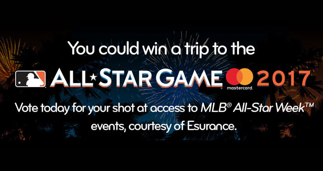 Esurance Fan All-Star Sweepstakes 2017