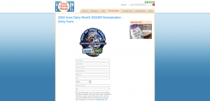 NFRA June Dairy Month Out of This World $10,000 Sweepstakes