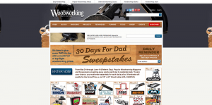 Popular Woodworking Magazine 30 Days for Dad Sweepstakes