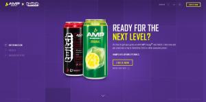 AMP Energy #AMPLevelUpSweepstakes Twitchcon 2016 Sweepstakes