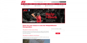 Ace Hardware #HelpfulHunter Sweepstakes