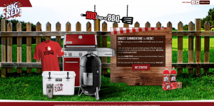 BigRed.com/BBQ - Big Red 100 Days Of BBQ Sweepstakes