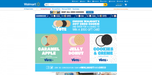 Walmart Oreo Vote Sweepstakes