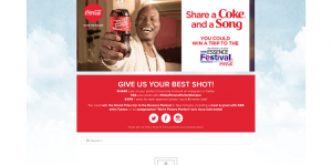 Coca-Cola Picture Perfect Contest