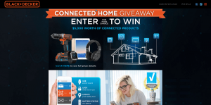 Black+Decker SMARTECH Connected DIY Giveaway