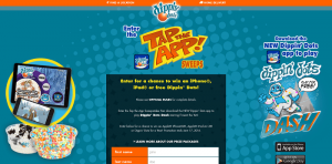 Dippin' Dots Tap The App Promotion