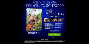 Warner Bros. The Coat of Many Colors Sweepstakes