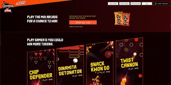 DoritosMix.com Doritos Mix Arcade