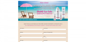 EltaMD Sun-Safe Sweepstakes