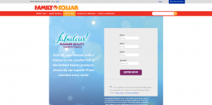 Family Dollar Fabulous Summer Sweepstakes