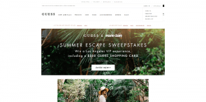 GUESS & Marie Claire Summer Escape Sweepstakes