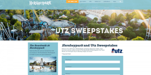 Hersheypark And Utz Family Fun Sweepstakes