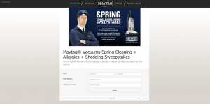 Maytag Vacuums Spring Cleaning + Allergies + Shedding Sweepstakes