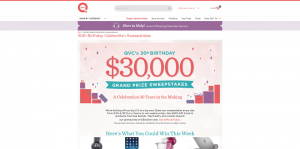 QVC.com/Sweepstakes - QVC 30th Birthday Celebration Sweepstakes