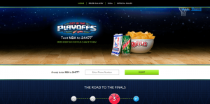 Ruffles & Mtn Dew Get in the Playoffs Promotion