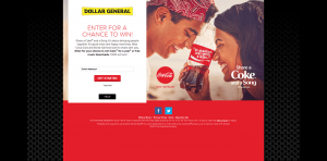 Dollar General Share a Coke 2016 Sweepstakes