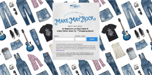 Silver Jeans Co. Make May Rock Sweepstakes