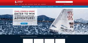 Famous Footwear The Stars, Stripes & Sperry Sweepstakes