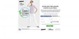 J.Crew Summer Getaway Sweepstakes