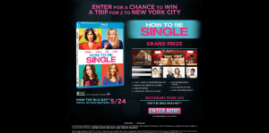 Warner Bros. How To Be Single Sweepstakes